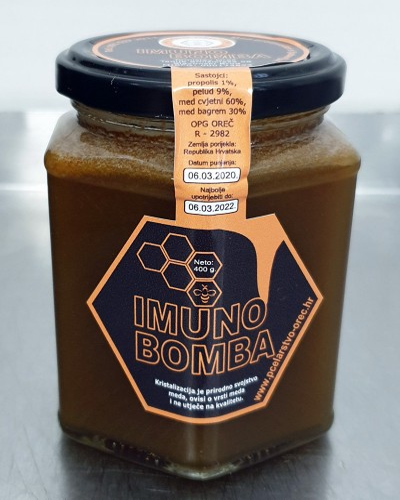IMUNO BOMBA NETO 400 g